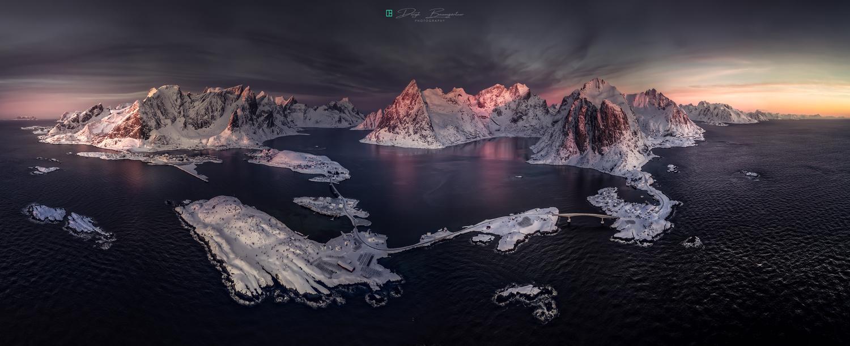 lofoten awakening by Deryk Baumgärtner