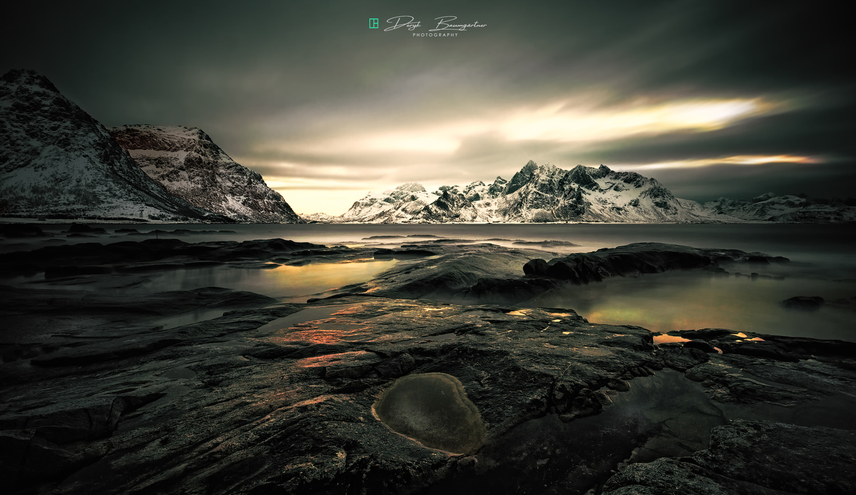 lofoten twilight by Deryk Baumgärtner