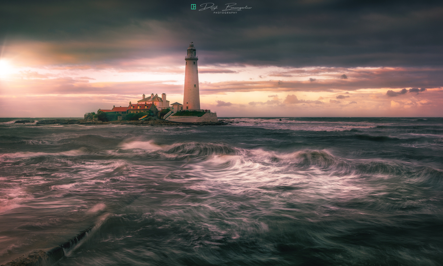 St. Mary's Lighthouse by Deryk Baumgärtner