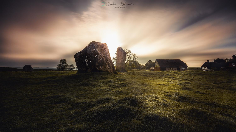 ancient ruins by Deryk Baumgärtner