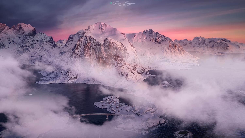 fire & ice by Deryk Baumgärtner