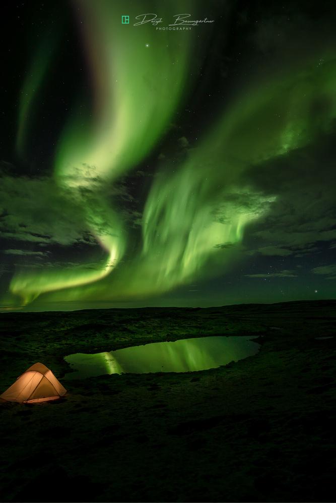 outdoor aurora by Deryk Baumgärtner