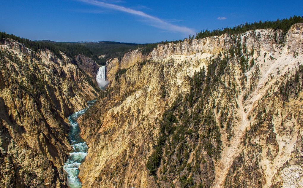 Lower Falls by Jeffrey Malone