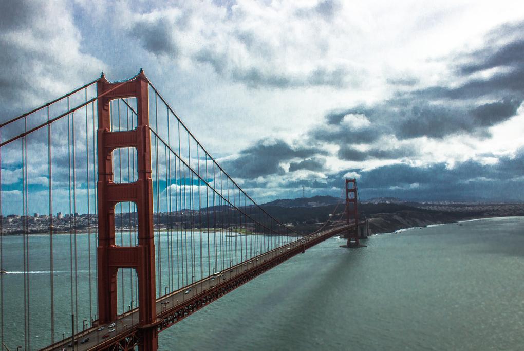Golden Gate Bridge by Jeffrey Malone