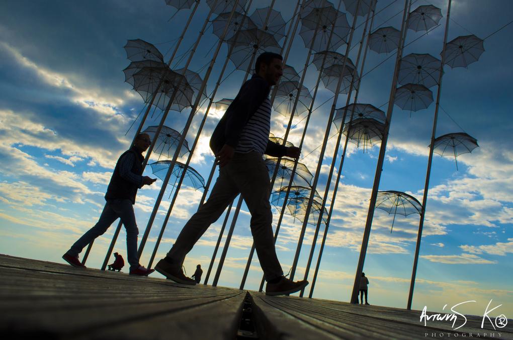 Umbrellas by Antonios Kritsotelis