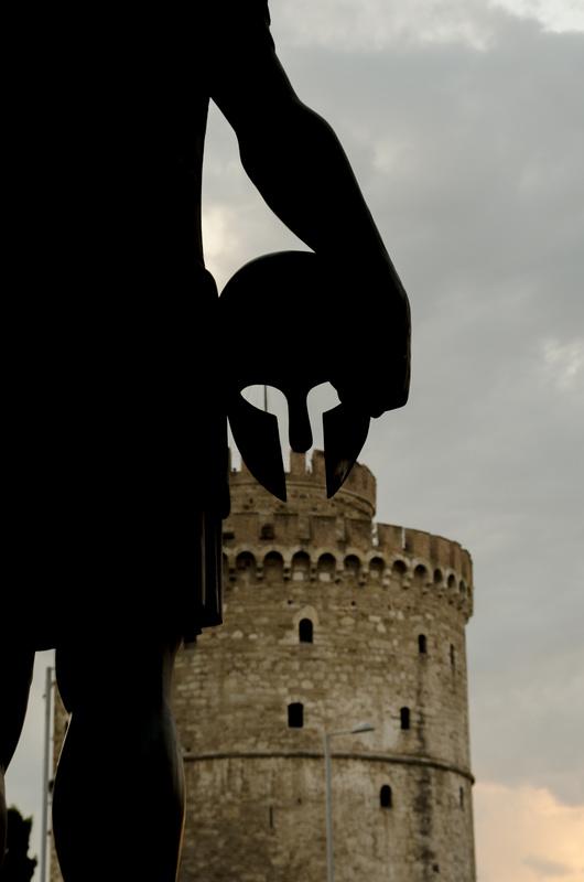 King Phillip Statue, Thessaloniki by Antonios Kritsotelis
