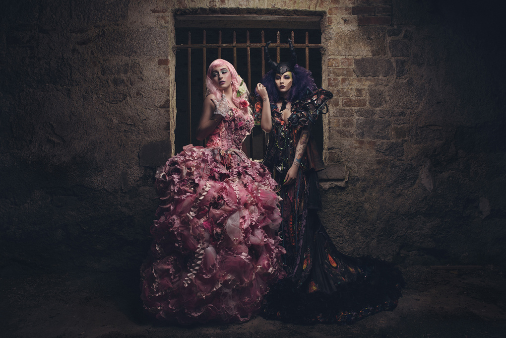 Miss Steph Zombie and Tessa Muldoon by Dave Kavanagh