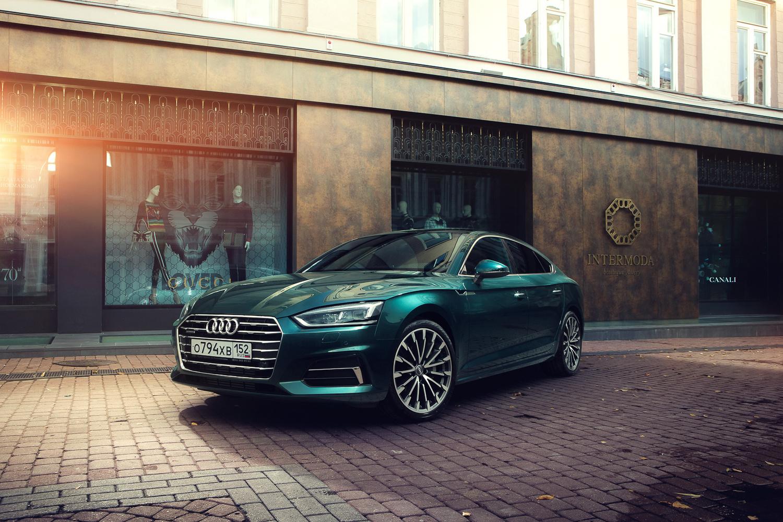 Audi A5 Lifestyle by Roman Lavrov