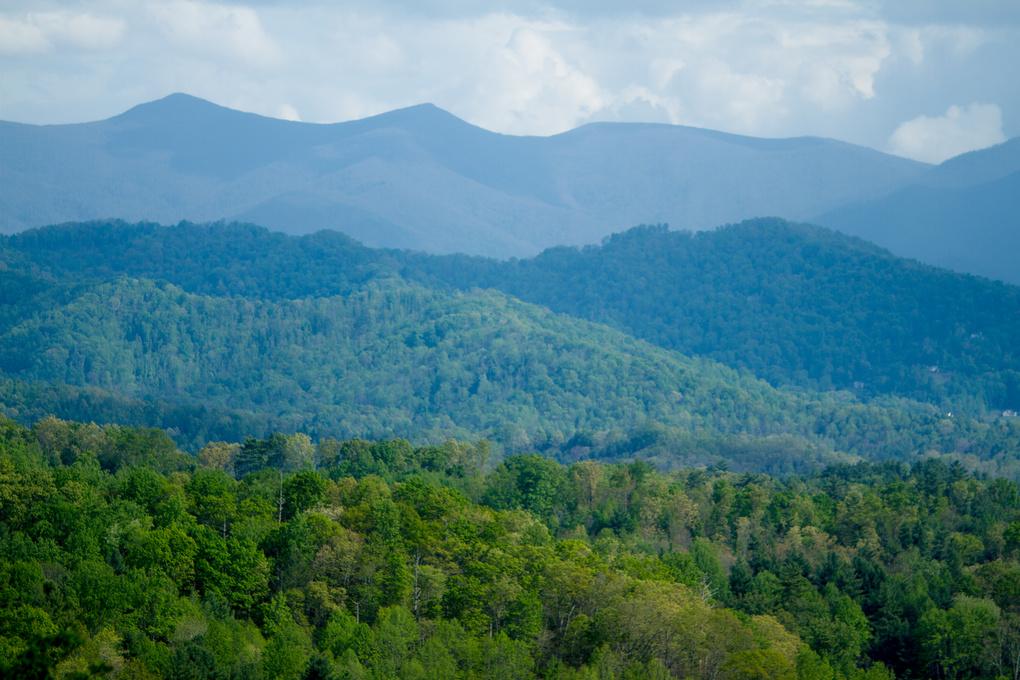 Blue Ridge Mountains by Caleb Epler
