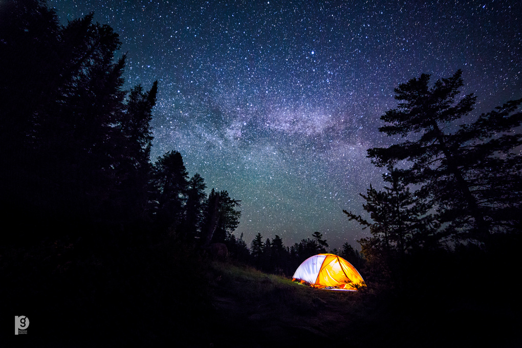 Camping with the stars by Pranam Gurung