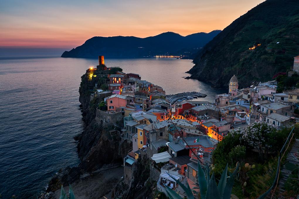 Vernazza Sunset by Ciaran McGrenera