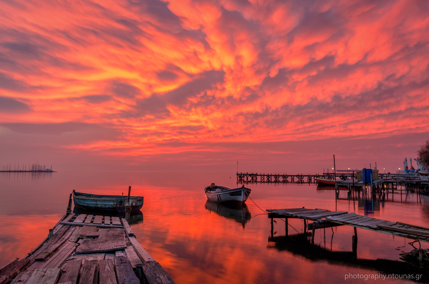 Burning Sky by Alexios Ntounas