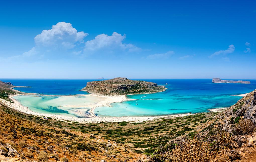 Balos Lagoon by Alexios Ntounas