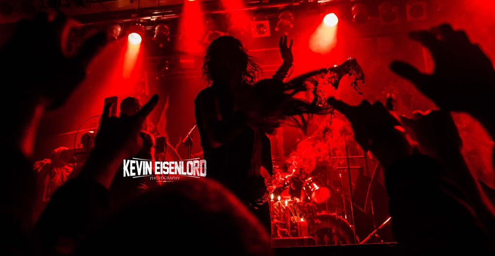 Watain Blood throw by Kevin Eisenlord