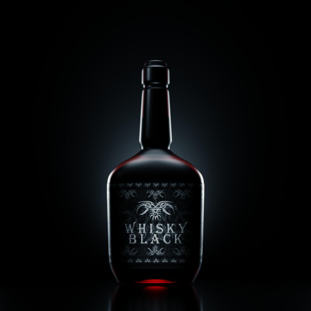 Whisky Bottle by Maxim Ostromogilsky