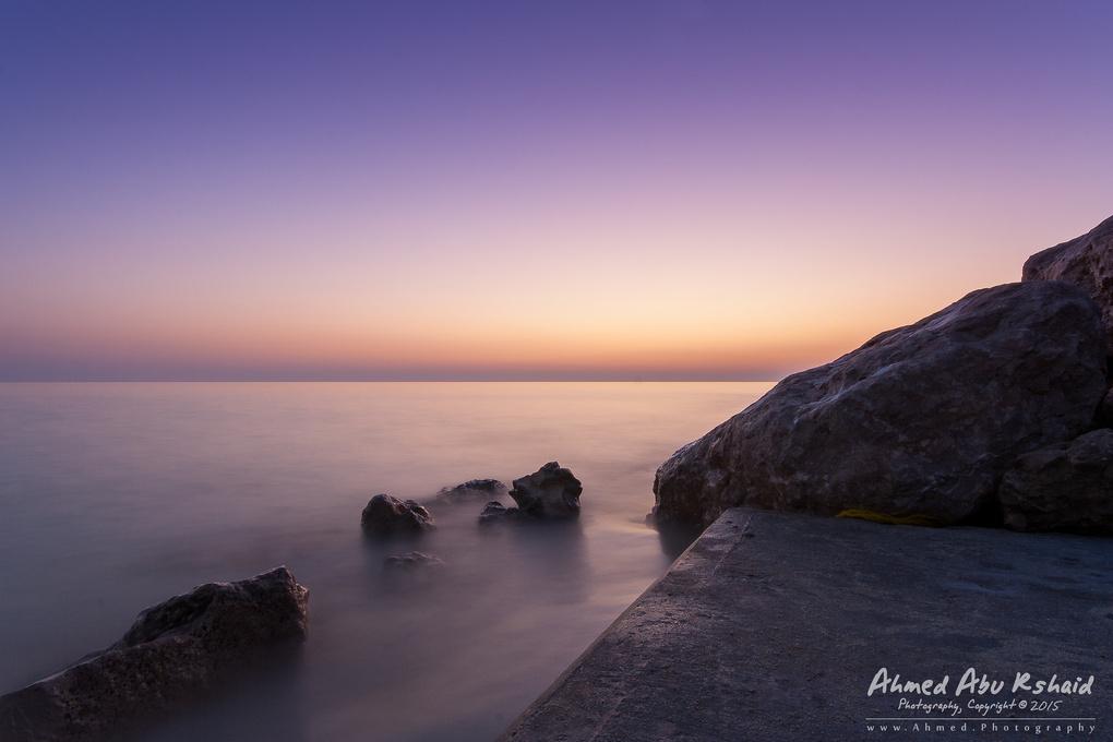 Ras Tanura at Dawn by Ahmed A.R.