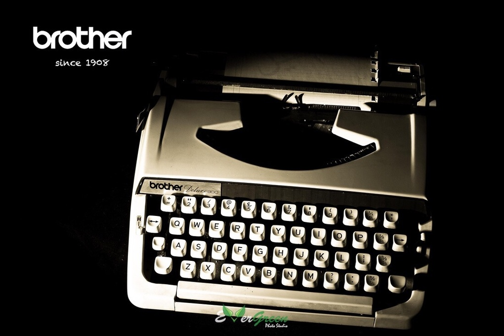 Brother typewriter  by Shahed Sohrabi