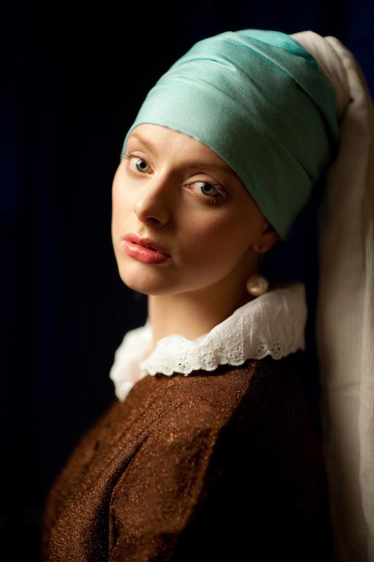 Het Meisje met de Parel by Dmitry Krasitsky