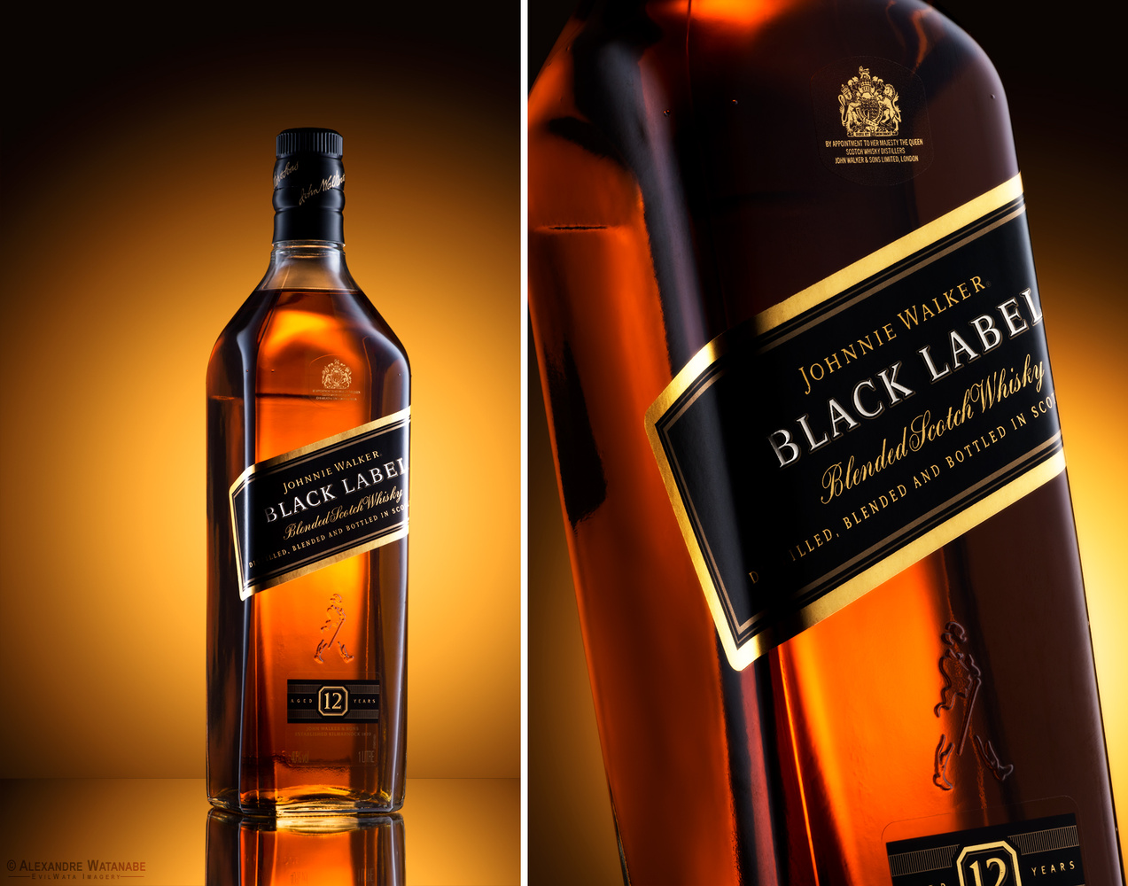 Johnnie Walker - Black Label by Alexandre Watanabe