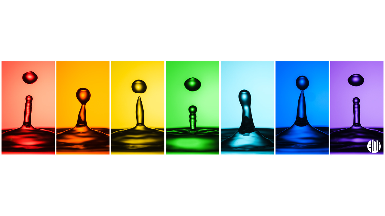 Rainbow Splash by Alexandre Watanabe