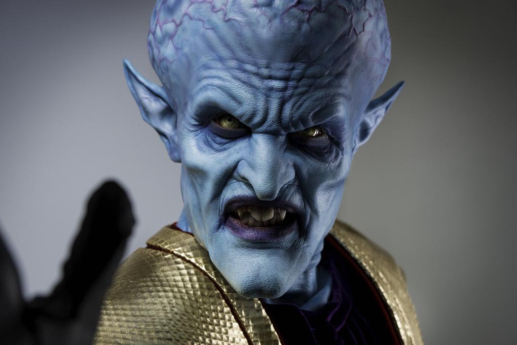 Alien Emperor Makeup by Trevor Toma