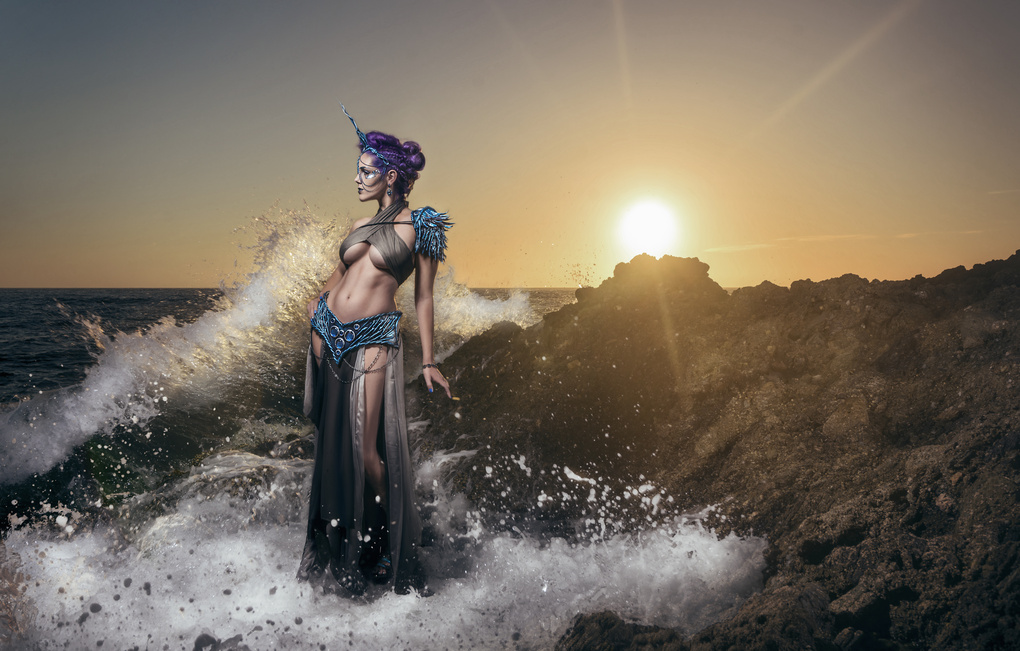 Sea Unicorn One by Trevor Toma