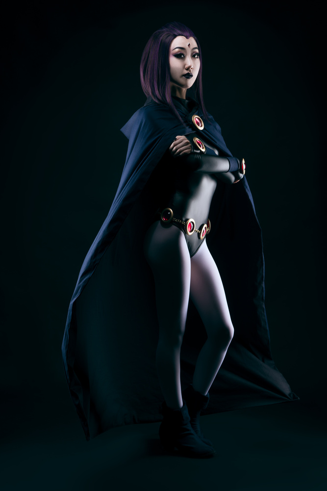 Raven: Pose by Trevor Toma
