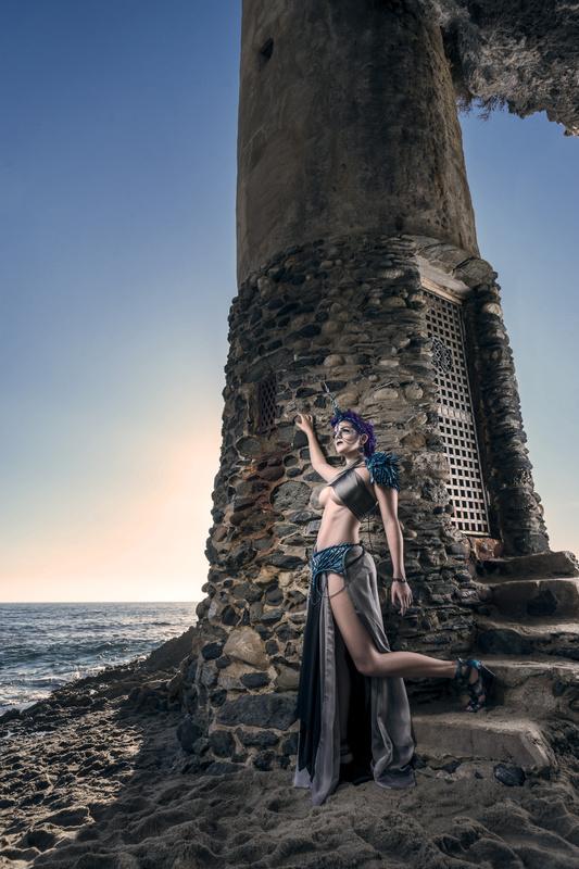 Unicorn Warrior Tower by Trevor Toma