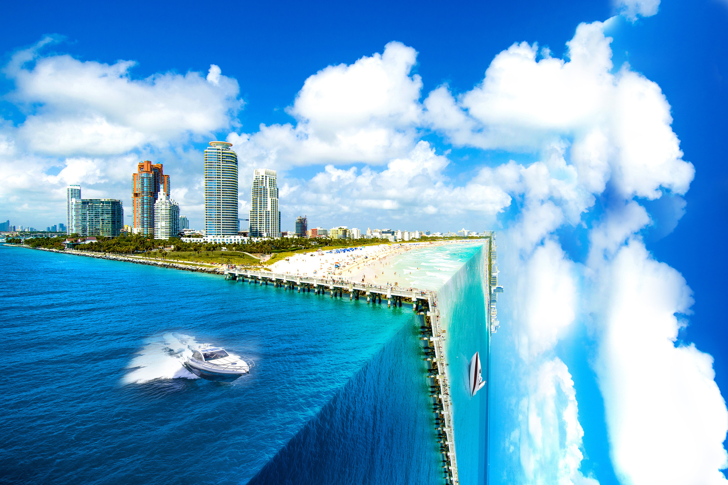 Miami Beach Cubed by Dean Chambers