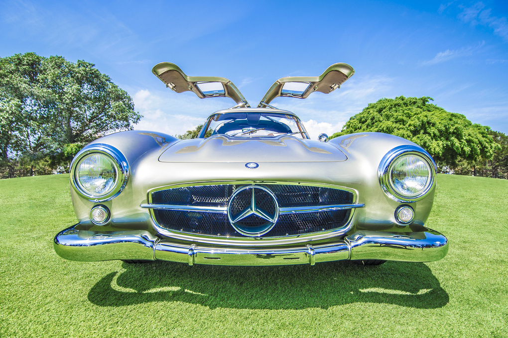 Benz 300SL by Dean Chambers