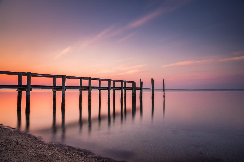Cape Cod Sunrise - Dock Angle (181s) by Michael B. Stuart