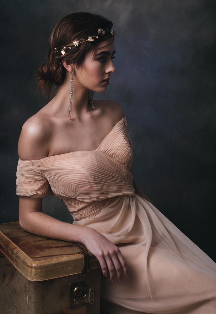 Victoria - Painterly Portrait by Joseph Tran
