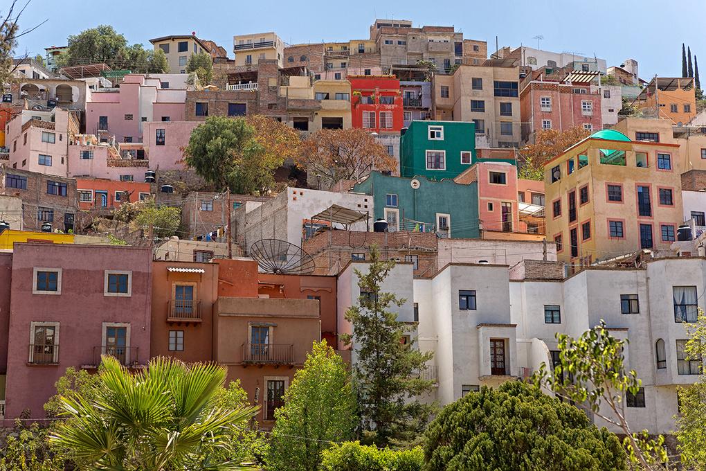 Guanajuato, Mexico by Barna Tanko