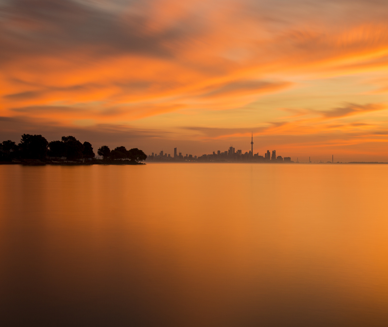 Toronto Sunrise by Narada Williams