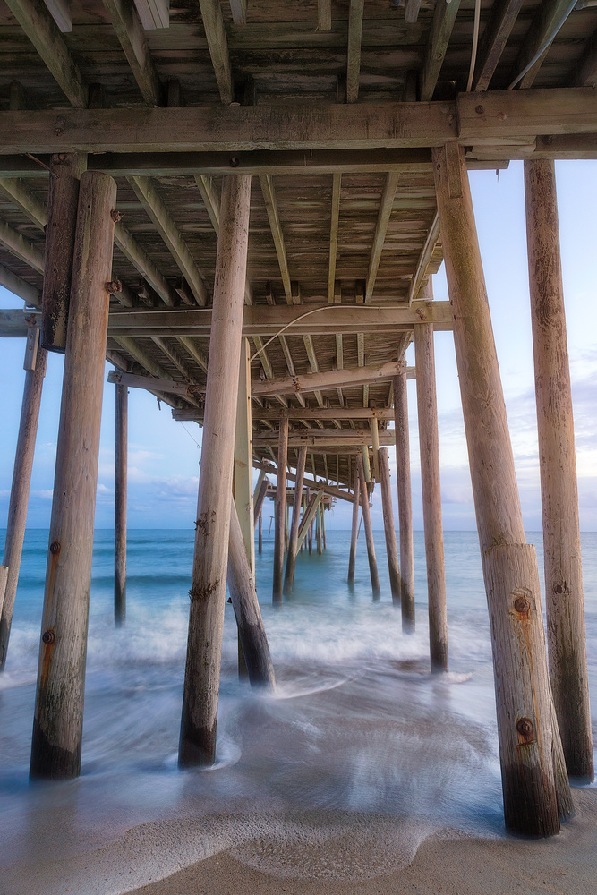 Frisco Pier by Mark Bowers