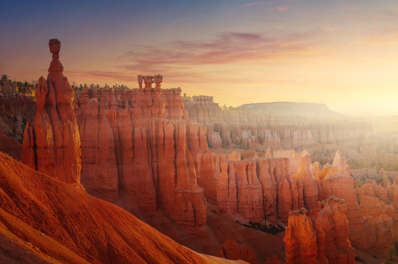 Sunrise in Bryce by Rex Jones
