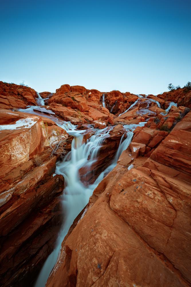 Gunlock Falls by Rex Jones