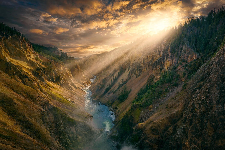 Yellowstone Canyon by Rex Jones