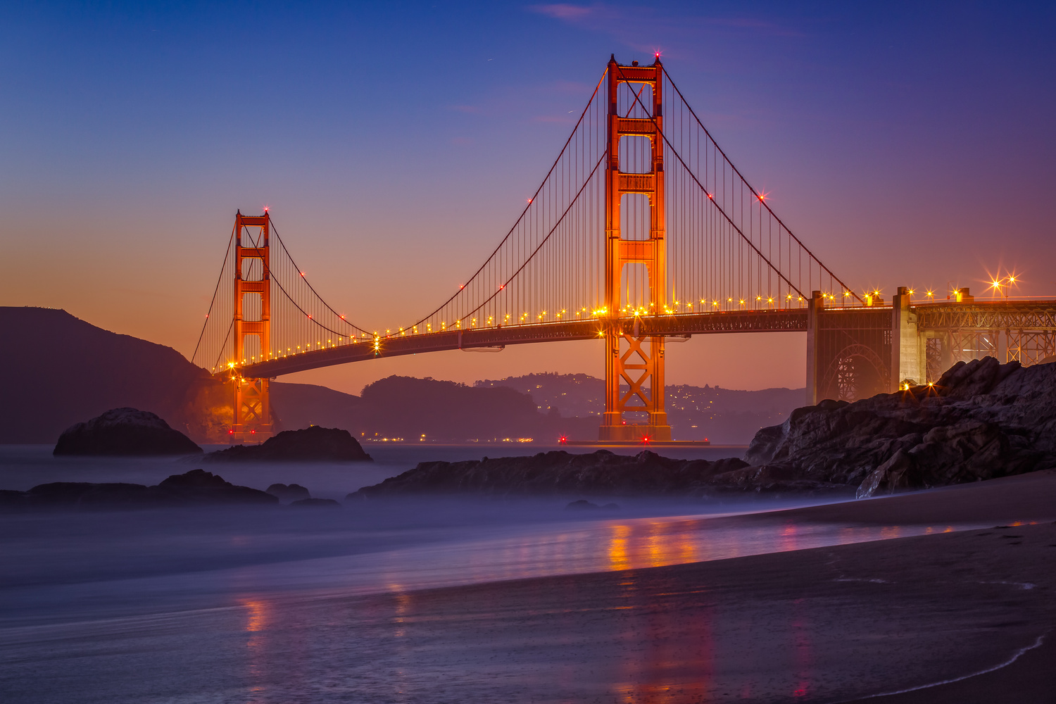 The Golden Gate by Rex Jones