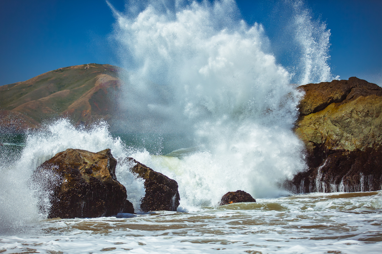Mile Rock Beach by Rex Jones