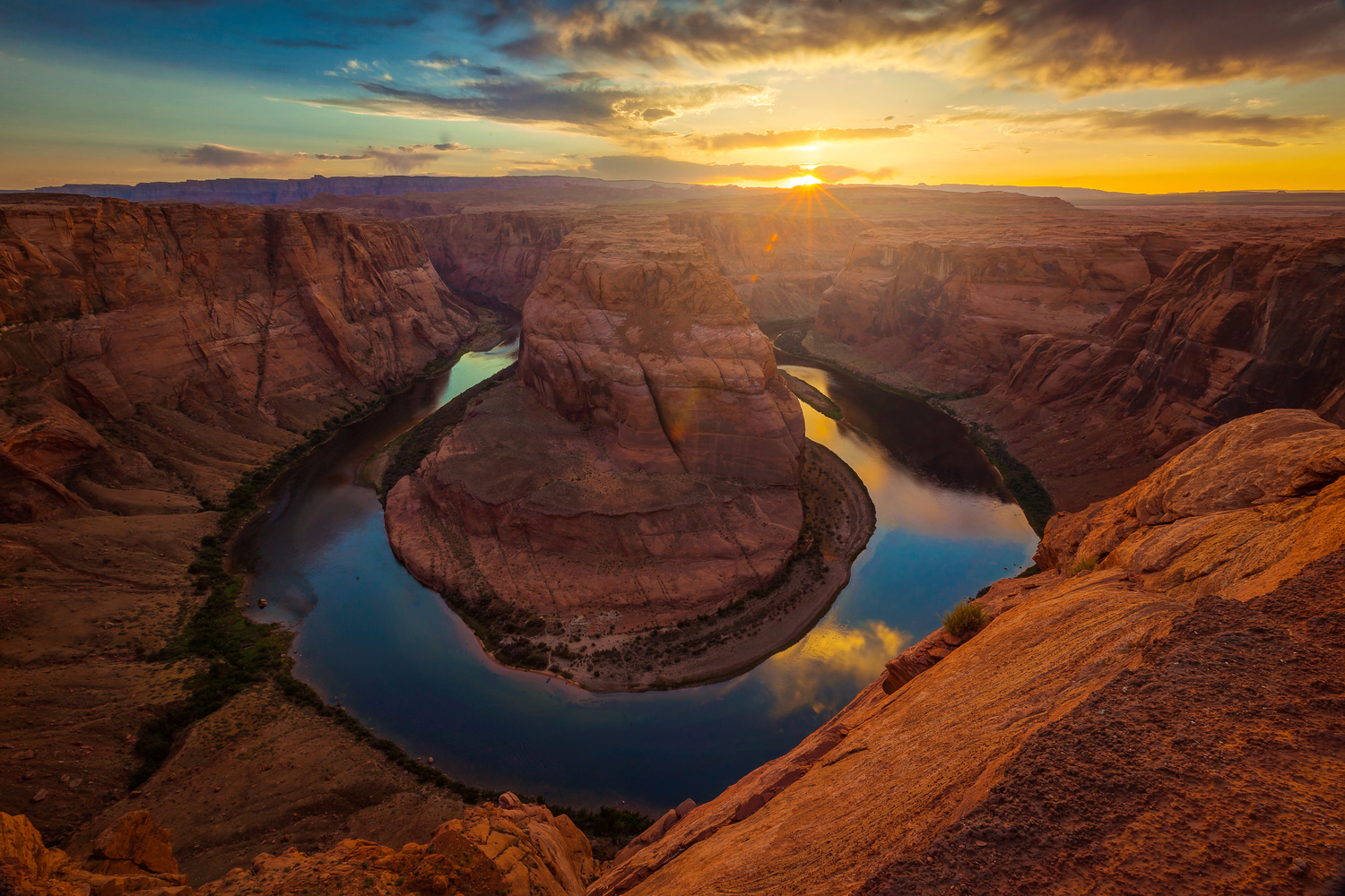 Horseshoe Bend by Rex Jones