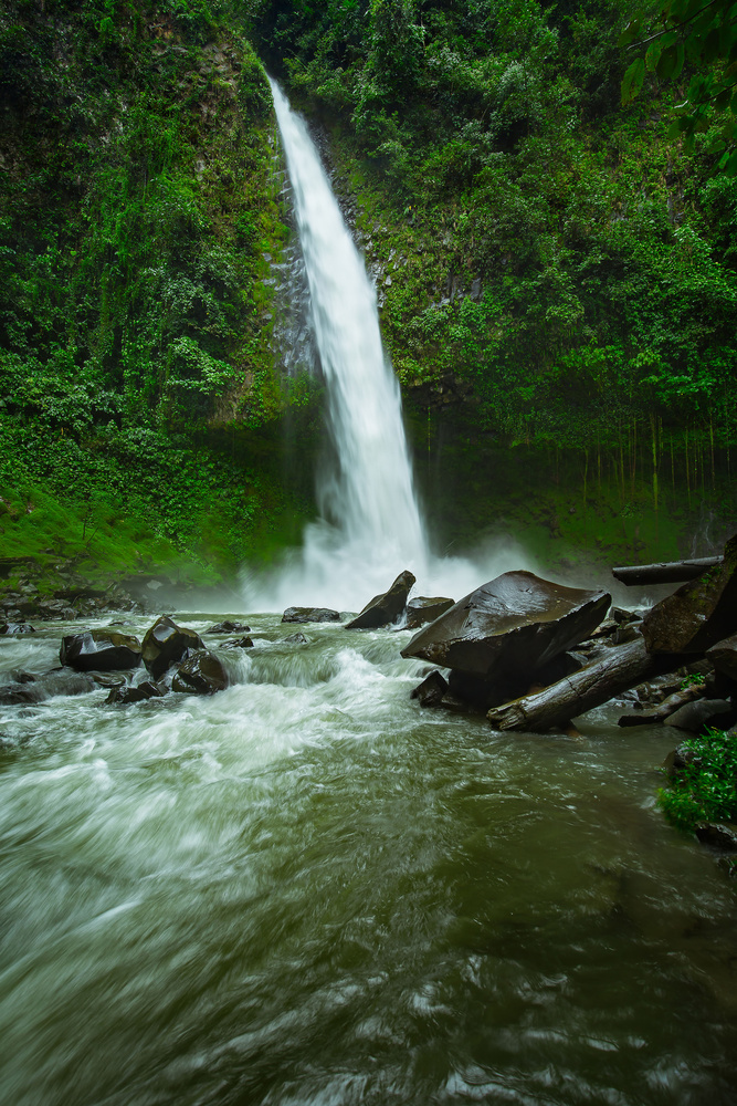La Fortuna Waterfall by Rex Jones