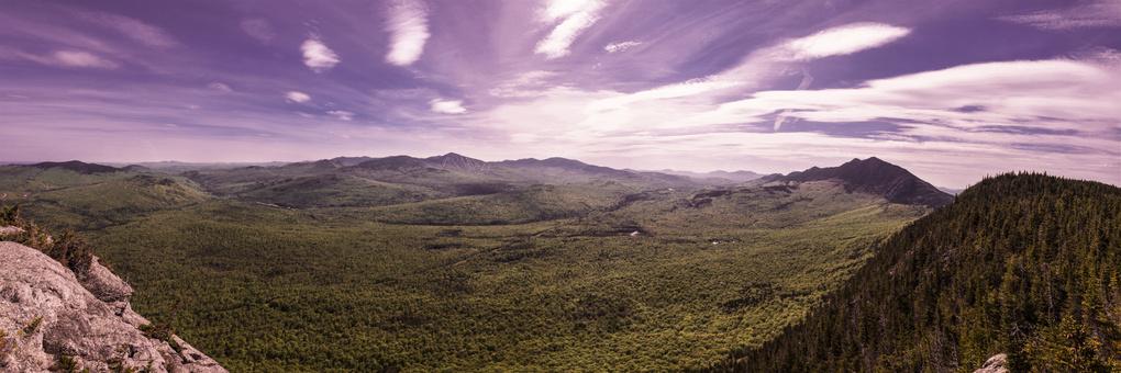 The Valley from Little Bigelow by Waylon Wolfe