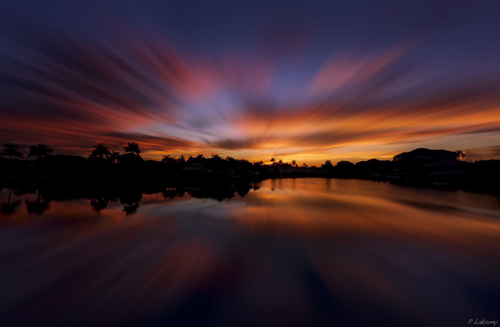 Colorful Sunrise by Peter Lakomy