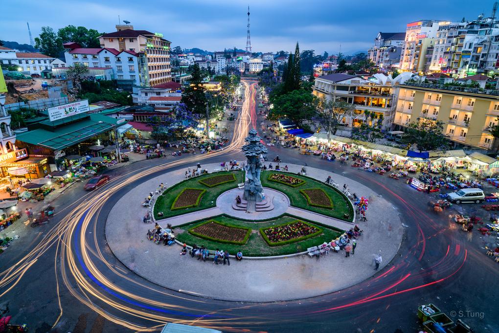 Dalat City by Michel Nguyen