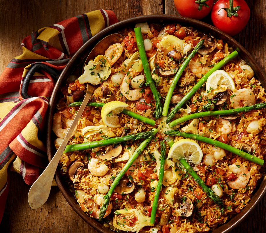Seafood Paella by Dylan Bauer
