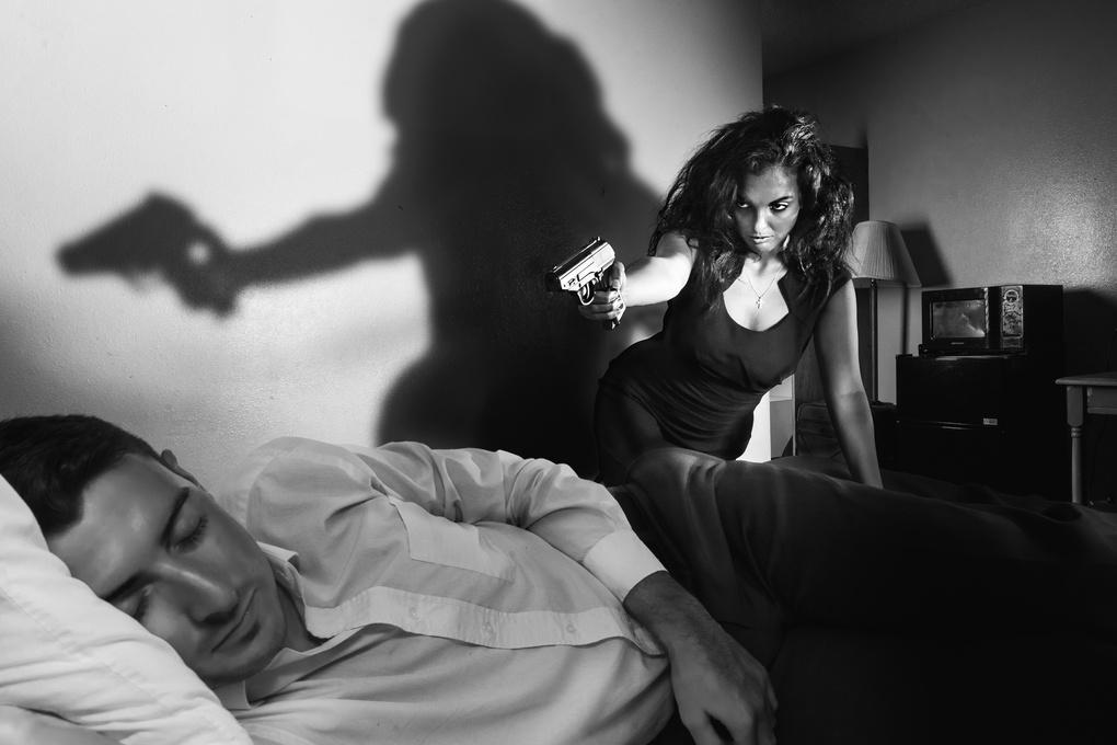 The Noir Shoot by Deuce Bradshaw