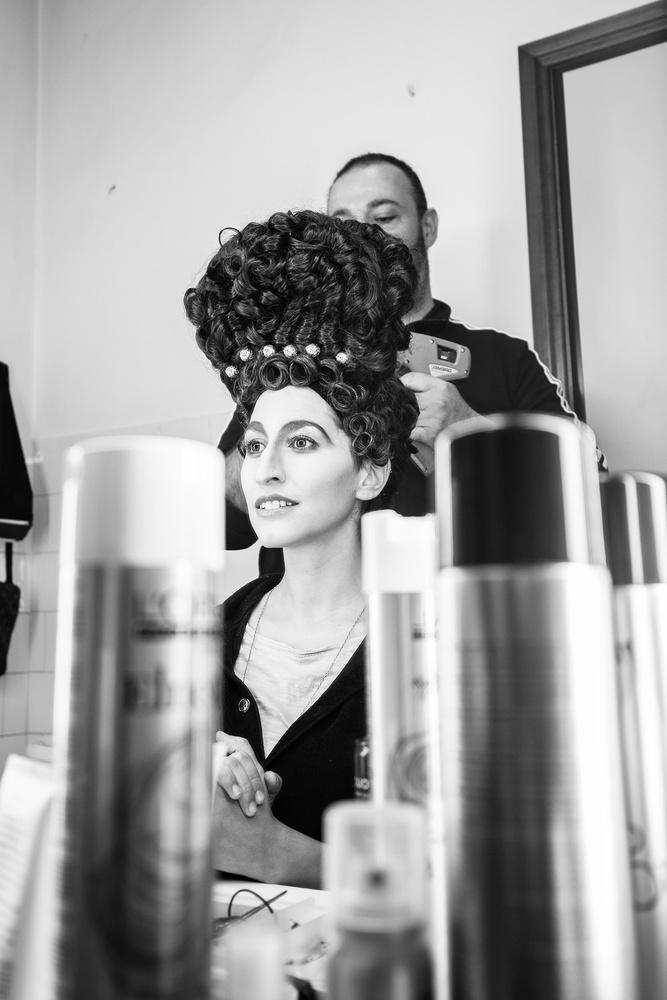 Unconvetional wig tool by Antonio Chiesa