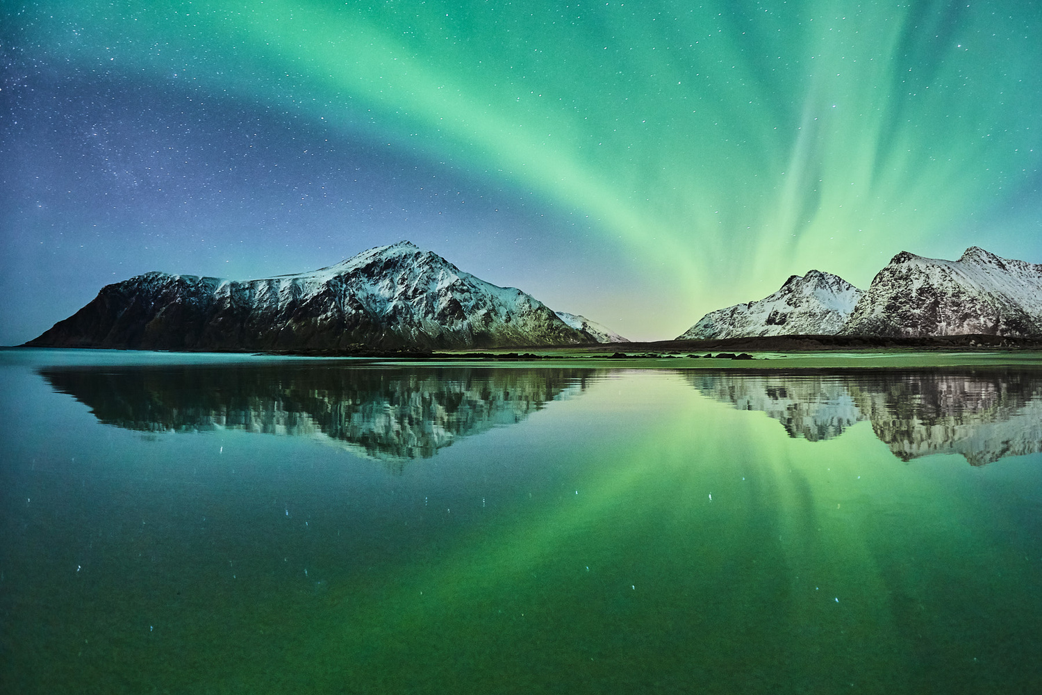 Northern Reflection by Johny Goerend