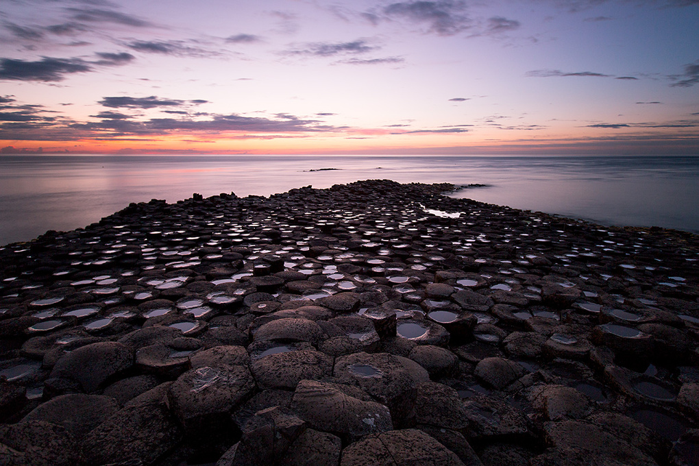 Giant's causeway by Johny Goerend